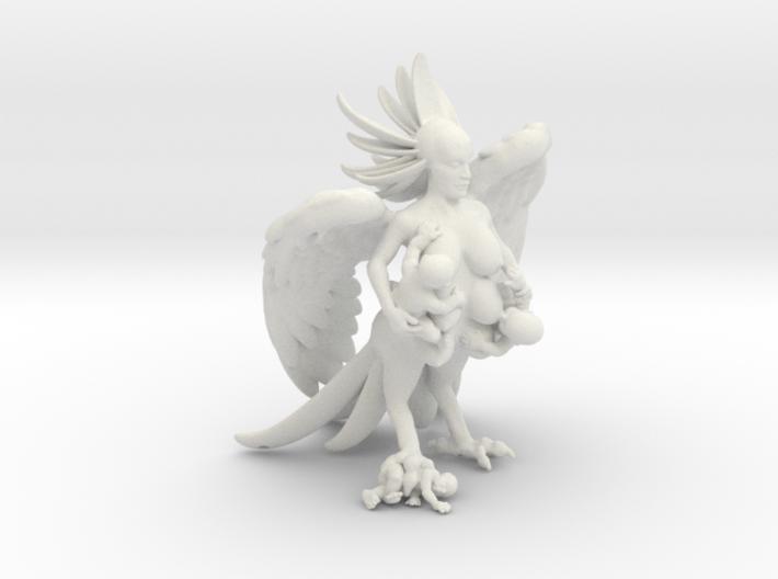 Birdwoman 3'' 3d printed