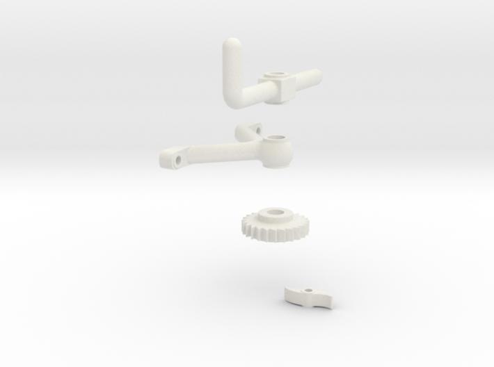 Burner Control Assy 3d printed