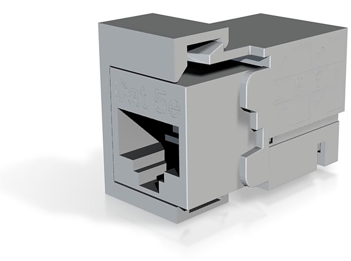 Test Keystone Jack Fit 3d printed
