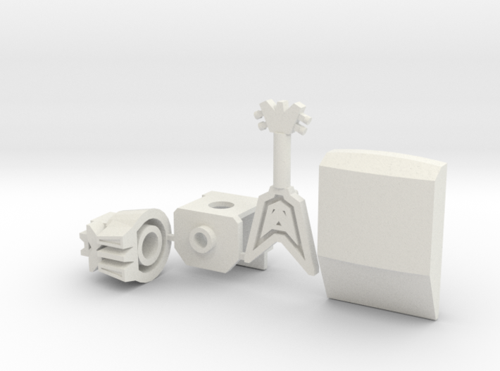 Animated Communication Major 3d printed