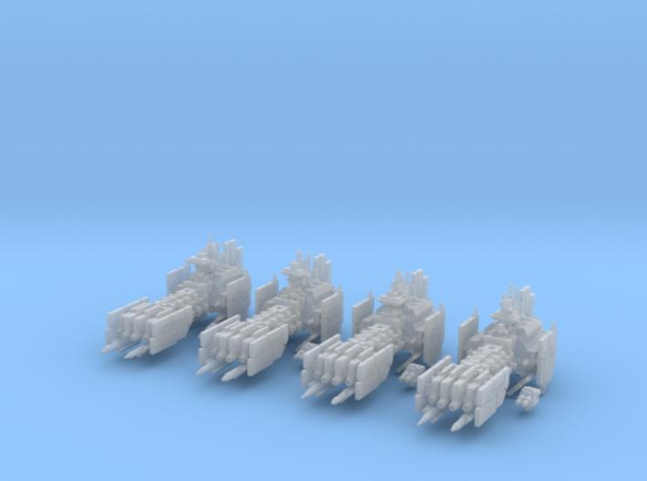 Legion - Voltigeur Class Destroyer (x4) 3d printed