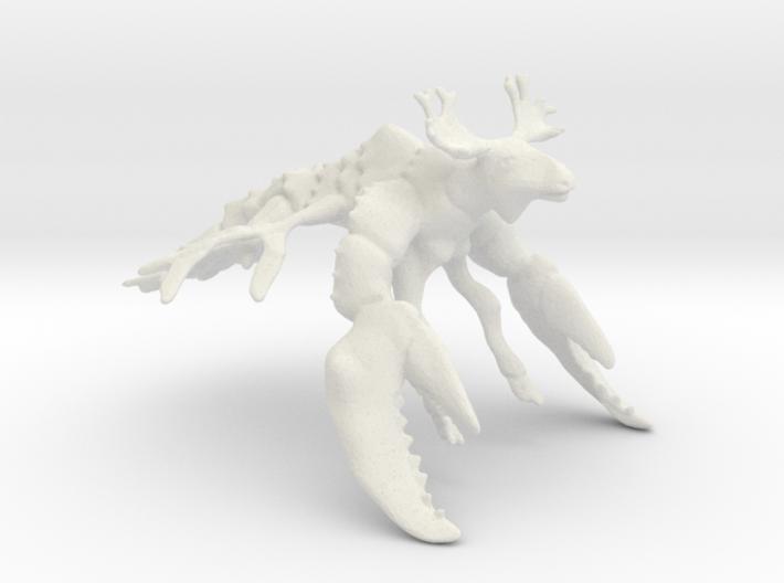Moose Fish 3d printed
