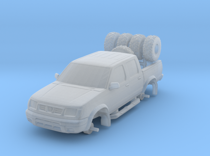 1/87 Scale Fun Double Cab 4x4 3d printed