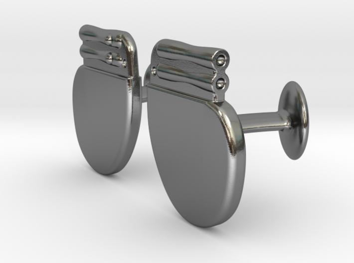 Pacemaker Cufflinks 3d printed