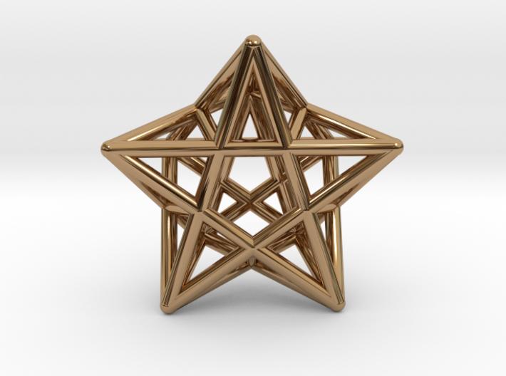 Star Pendant #2 3d printed
