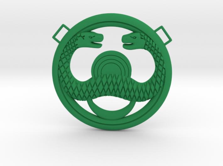 Conan Snake Amulet 3d printed