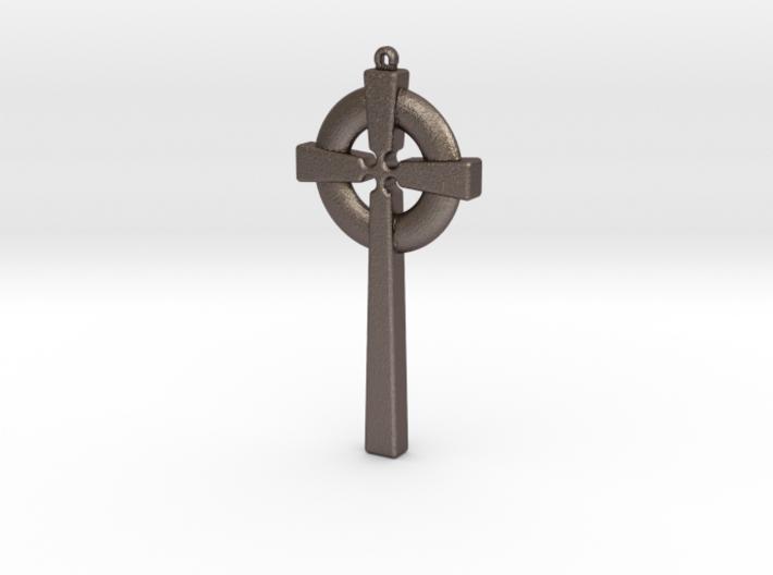 Celtic Cross 010 3d printed