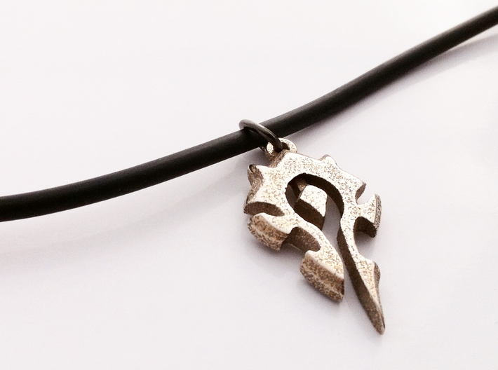 Horde Pendant - World Of Warcraft Necklace 3d printed