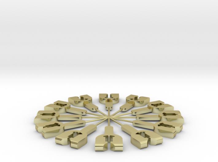 Federhalter für Spur1 Kupplung 1:32 3d printed