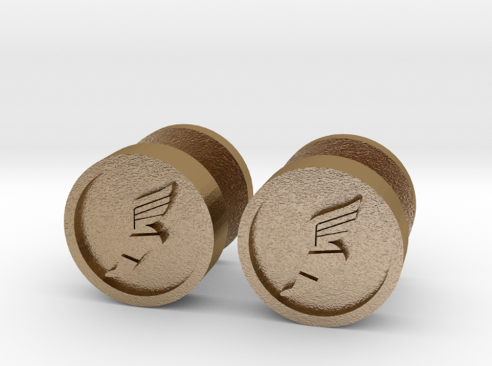 Team Fortress 2 Scout Cufflink 3d printed