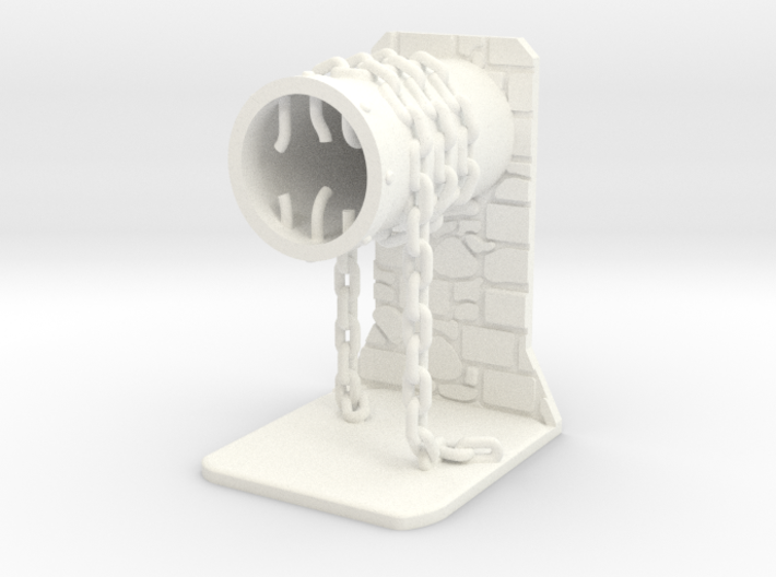 Pipe and chain token / scenery 3d printed
