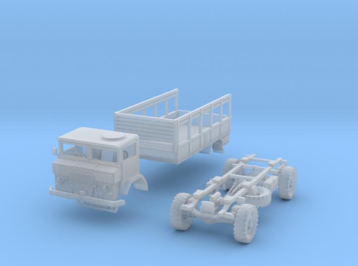 Australian Army ACCO 2 1/2 ton GS(N/1:144 Scale) 3d printed