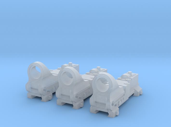 1:6 reflex sight 3pcs FD FUD version 3d printed