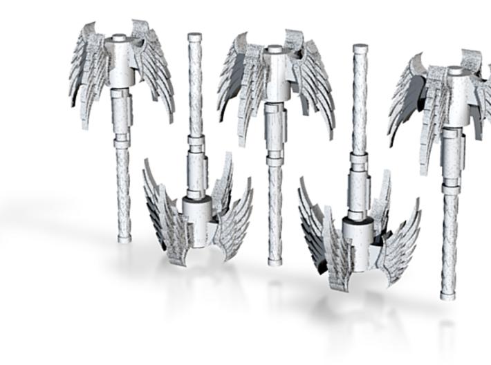 Angel Mace 5 Pack 3d printed