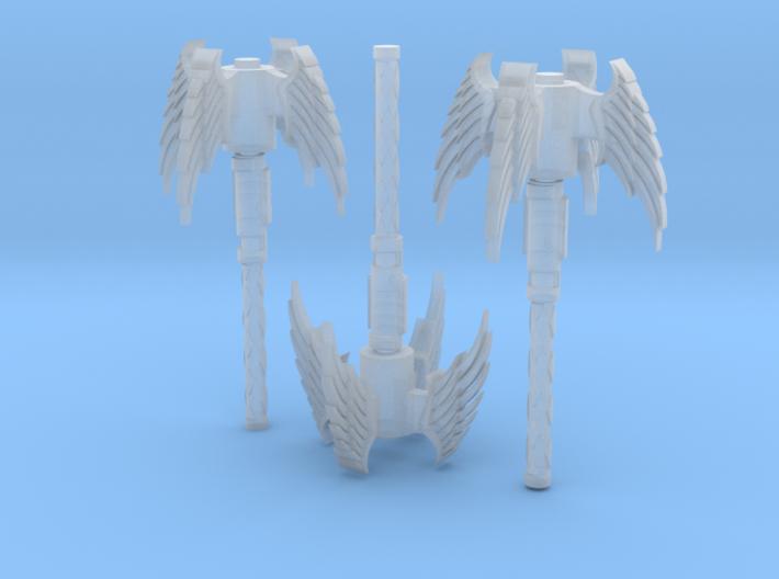 Angel Mace 3 Pack 3d printed