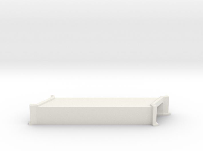 N-Scale Concrete Highway Angled Culvert 3d printed