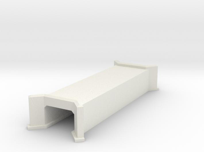 N-Scale Concrete Highway Culvert 3d printed