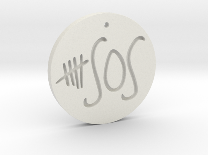 5 Seconds of Summer - Necklace - Charm Pendant 3d printed