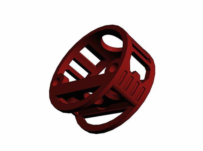 GCM110-04-01 - R.I.C.E.™ Port Style1 holder 3d printed