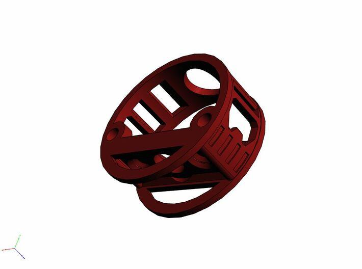GCM111-04-01 - R.I.C.E.™ Port Style1 holder 3d printed