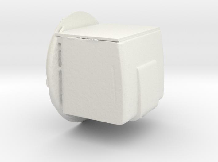 Television Rca 621TS white plastic 3d printed
