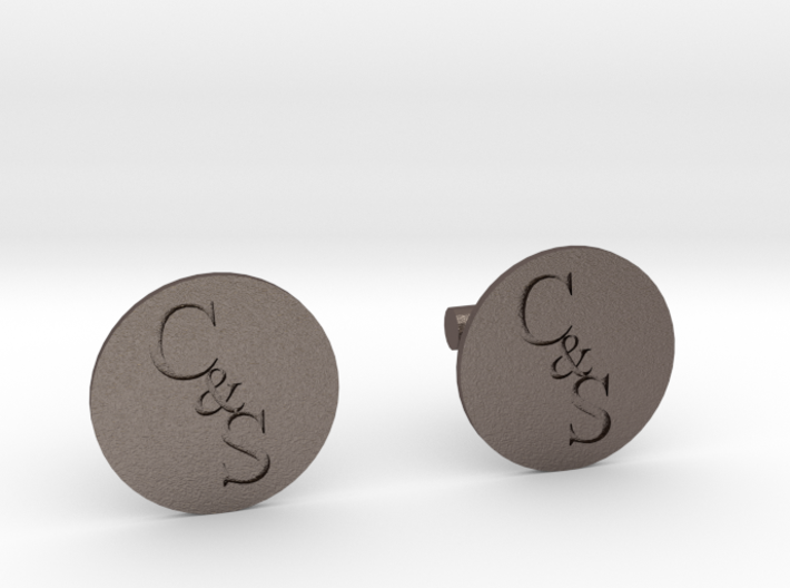 Cuff Links 3d printed
