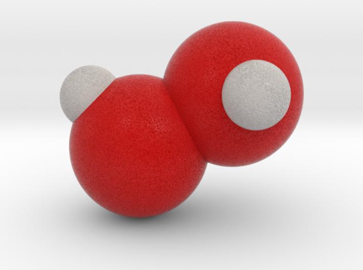 Hydrogen peroxide 3d printed