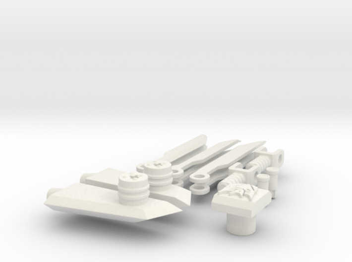DOTM Voyager Skyhammer Assault kit MEG version 3d printed