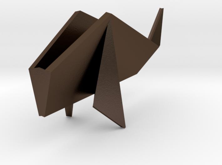 Origami Koi Fish 3d printed