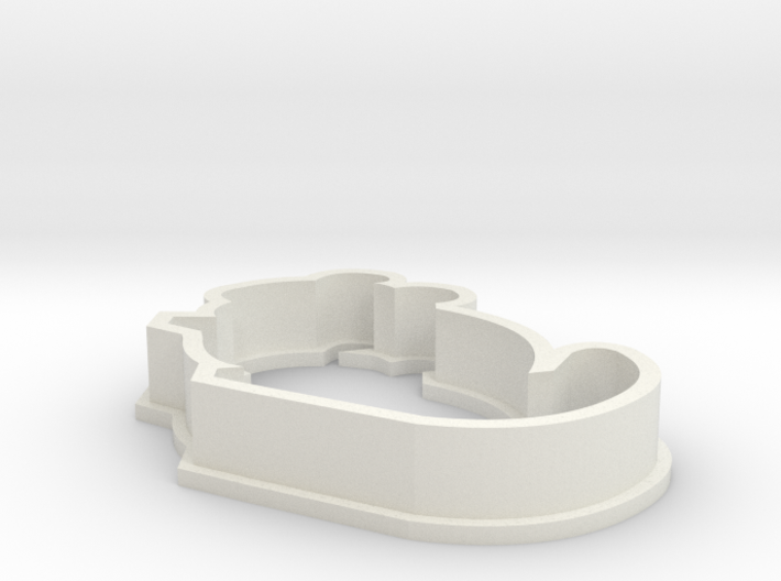 Small Chinchilla Cookie Cutter 3d printed
