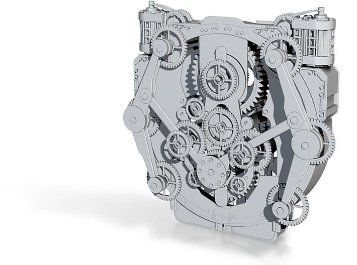 Clock Star Machine 3d printed