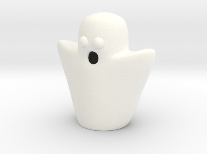 Pawn ghost 3d printed