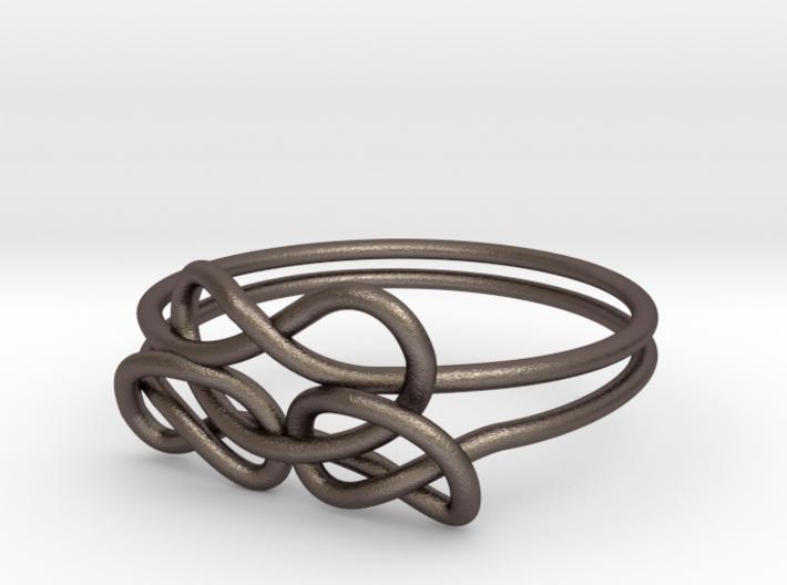 Bows Ring 3d printed