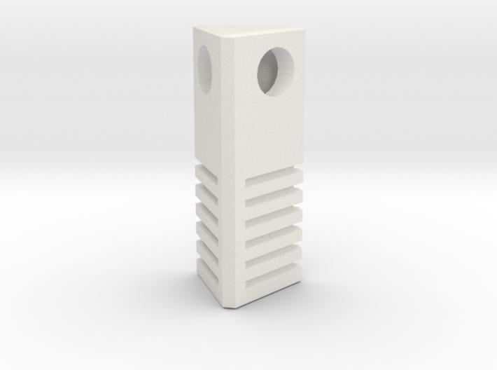 5th Element - Earth Stone Charm 2.5cm 3d printed