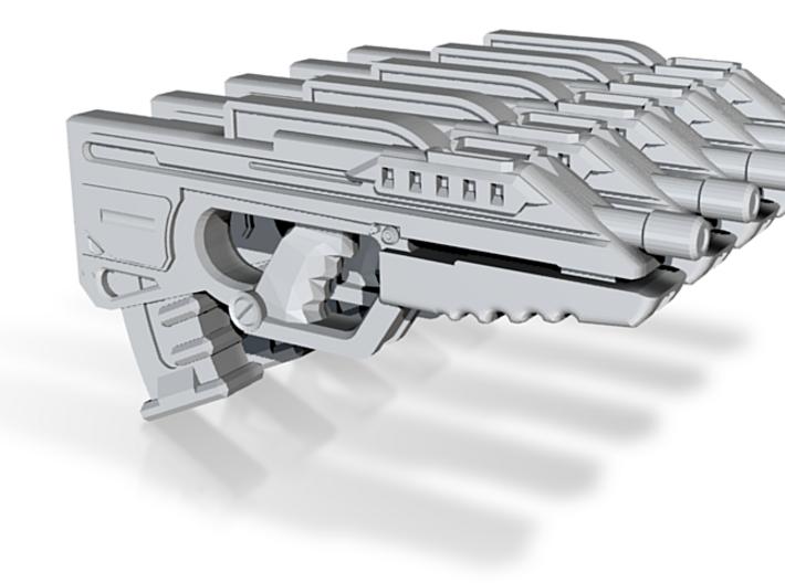 Gun 001a (famas) 3d printed