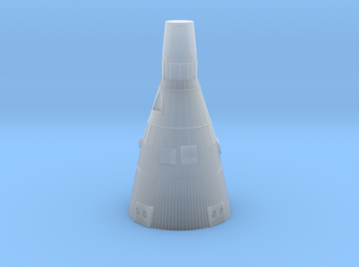 Gemini Capsule 1/100 scale 3d printed