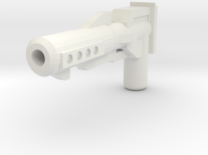 Moonbase Commander Blaster 3d printed