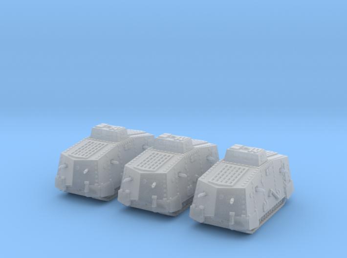 1/220 WW1 A7V tank 3d printed