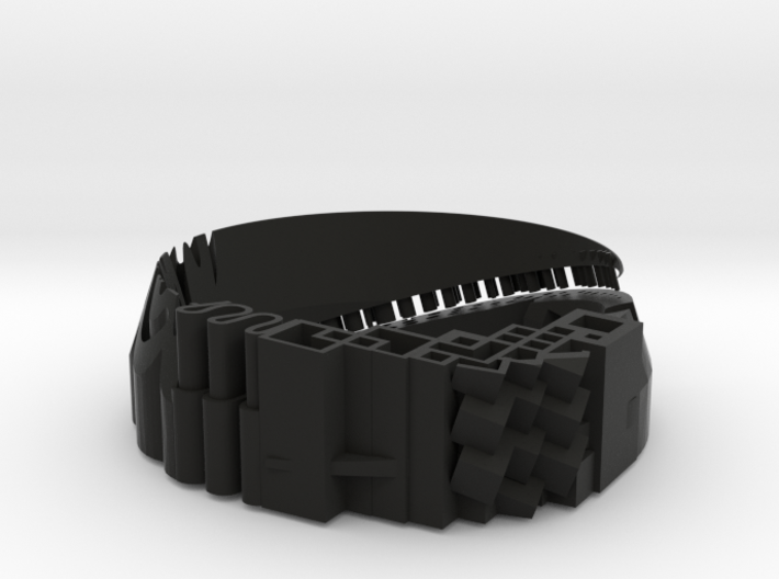 Bracelet material test - Armband Materiaal Test 3d printed