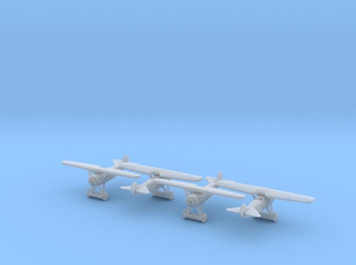 1/350 Fokker D VIII x 4 3d printed
