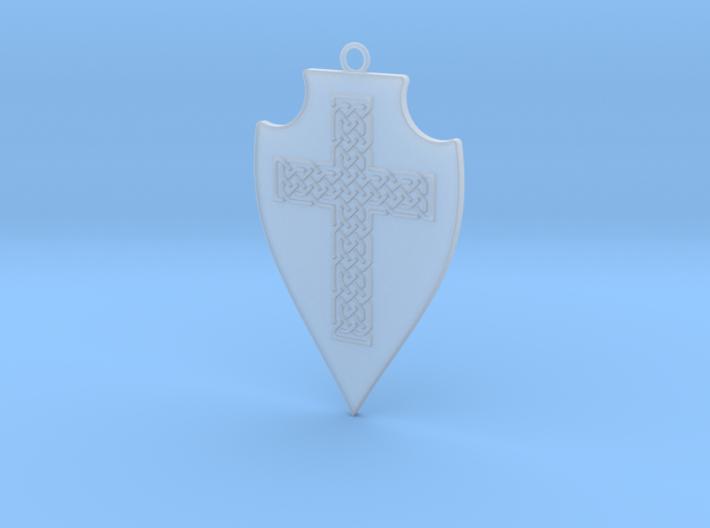 Knot Cross Shield 001 3d printed