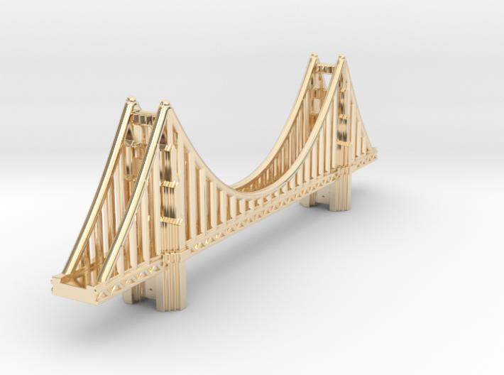 Golden Gate Bridge 3d printed