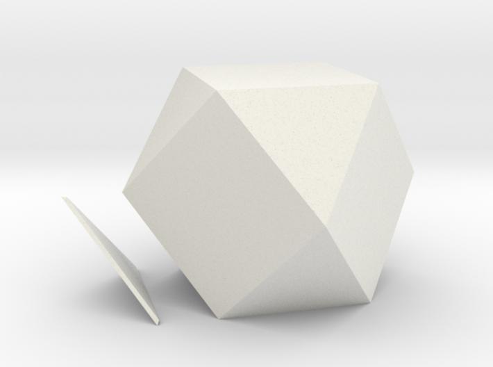 Exacedron Abscisus Solidus 3d printed