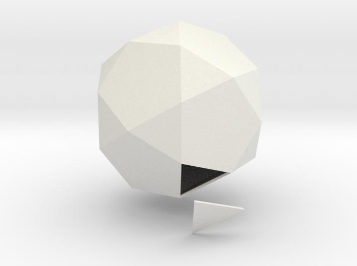 Duodecedron Abscisus Solidus 3d printed