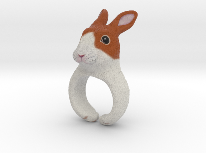 Rabbit Ring 3d printed