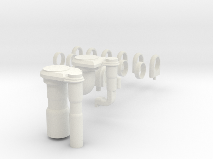 3d Shuttle Fuel Line Fitting 3d printed