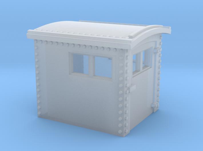 N&W Style Dog House N Scale 1:160 3d printed