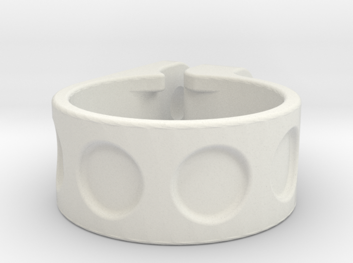1 inch (25,4mm) clamp 3d printed