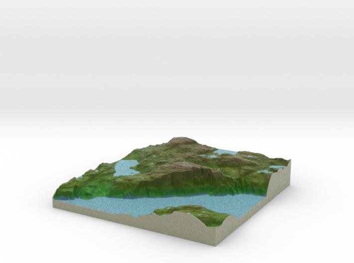Terrafab generated model Fri Apr 17 2015 17:06:57 3d printed