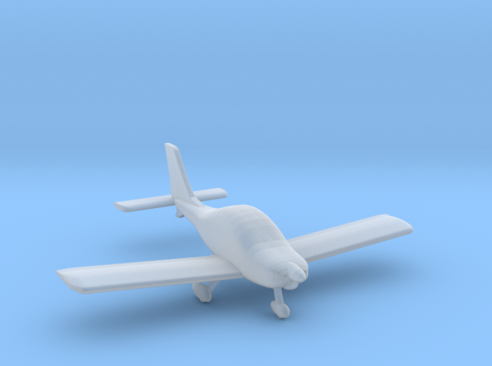 Texan Top Class Light Aircraft - N Scale 3d printed